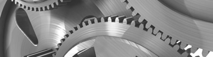 Tandwielen symboliseren de logische verbindingen tussen de tools